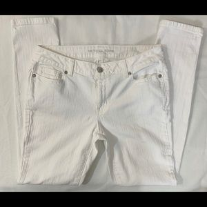 Michael Kors Women's White Skinny Denim Jeans S6P
